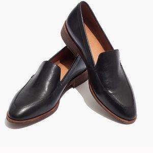 Madewell Frances Loafer Flat Black Leather 8.5